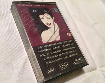 Duran Duran Rio cassette tape
