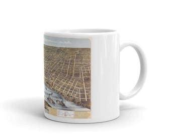 Coffee Mug - Memphis Tennessee 1870