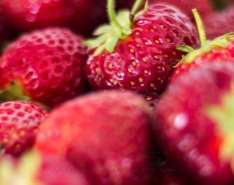 Fine Art Photography -- Strawberries