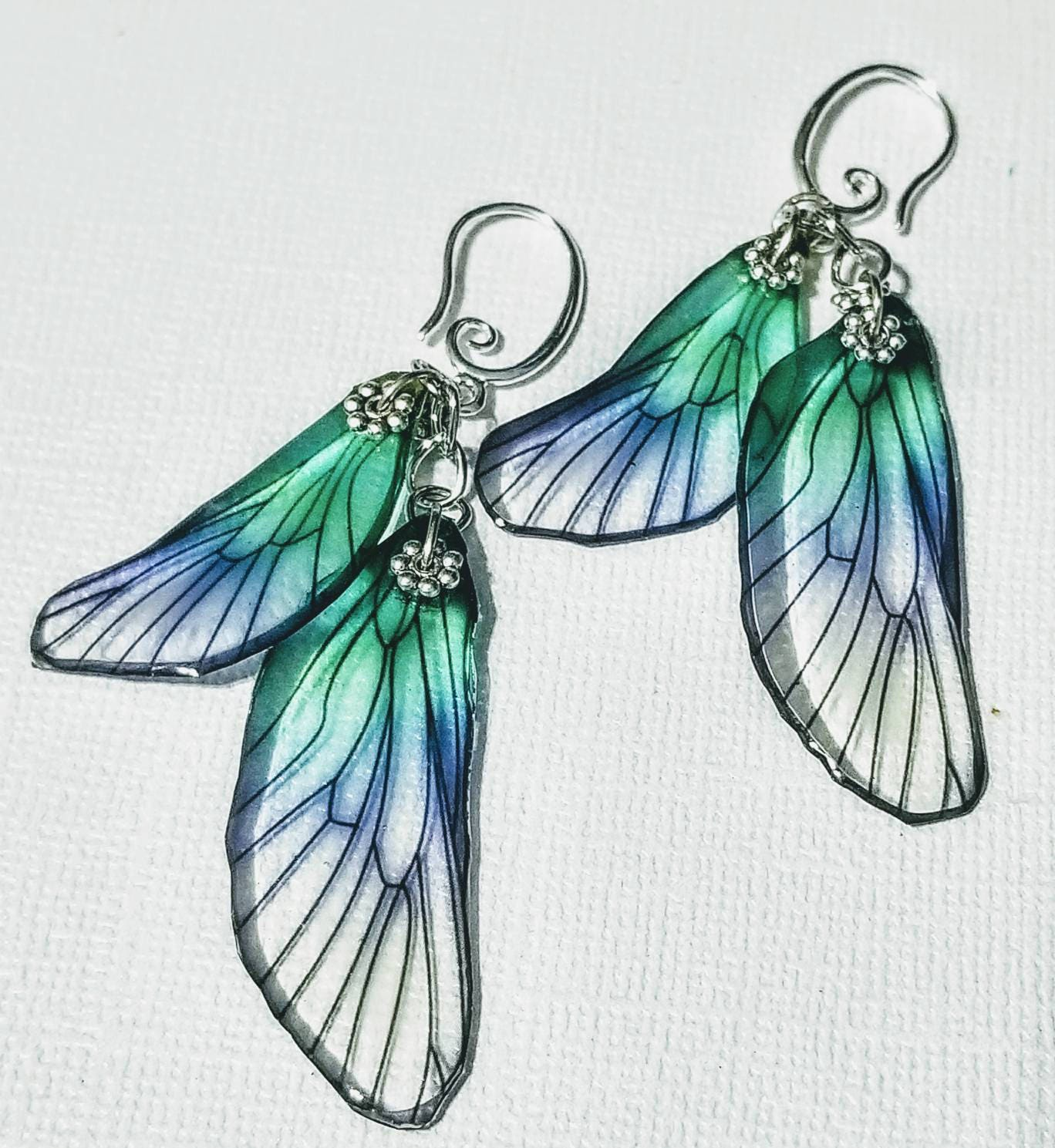 Iridescent Wings Photograph by Olahs Photography |Iridescent Dragonflies