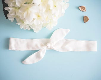 Head band style pinup style white - Vintage / retro