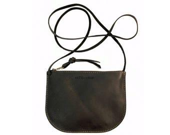 LUNA CROSSBODY Onyx Black • Supple Leather Bag