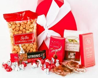 the heart box treatvalentines gift boxvalentines snack set - Valentines Gift Boxes