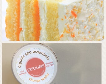 16 oz Orange Vanilla Sugar Scrub
