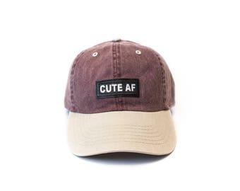CUTE AF baseball cap