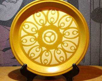 Vintage 1970's Dinner Plate stoneware made Japan