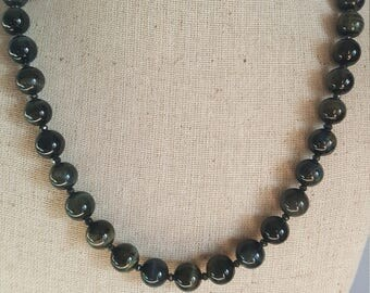 Gorgeous Tigers Eye Necklace!