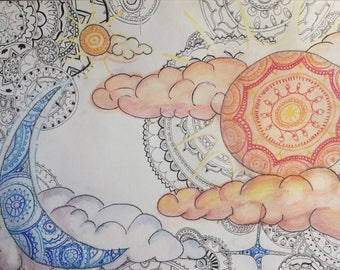 Mandala Abstract