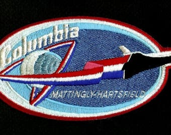 NASA SPACE SHUTTLE SPACESHIP badge Patch crew