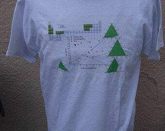 Size L (46) ** Periodic Table / Science Shirt (Single Sided)