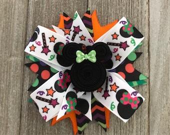 Halloween Mickey Bow