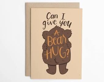 Can I Give You a Bear Hug?