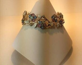 Pretty Vintage Coro Enamel Bracelet