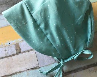 Turquoise Vintage Sunbonnet