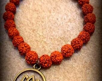 Rudraksha Seed Bracelet | Rudraksha Wrist Mala