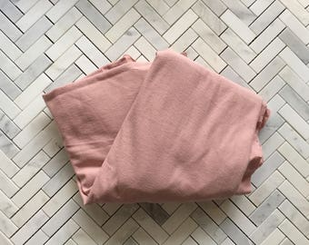 Pink Cotton Jersey Fabric