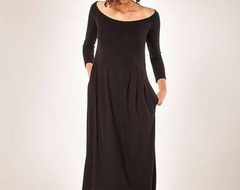 Christmas in July Women Dress/ Winter Dress/ Little Black Dress/ Midi Dress/Women's Dress/ Long sleeves Dress/ Maxi Dress