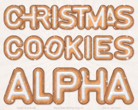 "Coolmathgames Com Christmas Ornaments: Gingerbread Cookies Alphabet Clipart Clip Art ""Christmas"