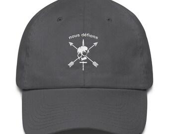 Special Forces Nous Defions Embroidered Cotton Cap