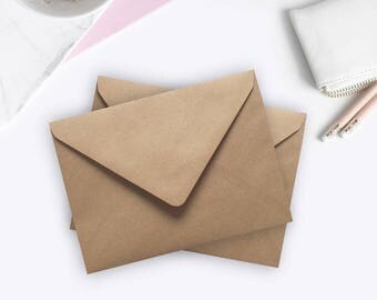 5x7 envelopes etsy 100 5x7 envelopes a7 envelopes ribbed kraft envelopes bulk rustic envelopes us a7 for wedding invitations stopboris Images