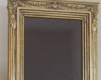 Ornate Neoclassical Gold Frame!