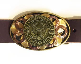 Ramon's Tribute Buckle and Belt Strap