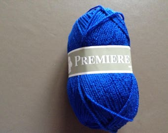 Yarn brand blue first