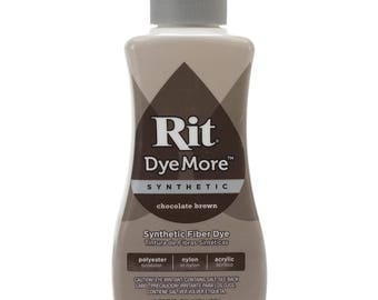 Liquid Synthetic Rit Dye 7oz - Chocolate Brown