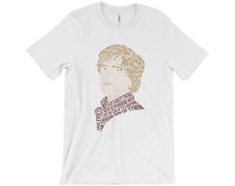 Tyrion Lannister Typography Shirt