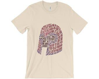 Magneto's Helmet Typography Shirt