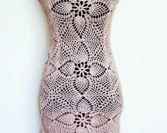 Crochet Summer Dress.