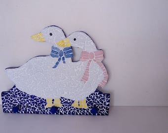Kids coat decorated with mosaic