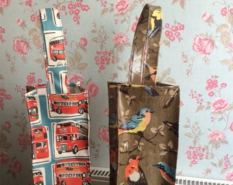 Cath Kidston wine tote / bottle bag