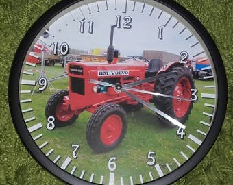 clock wall pattern old tractor volvo BM 600