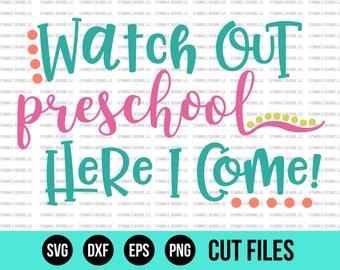 Back to School SVG - School SVG - End of Summer Svg - Preschool Svg - Cut Files - Cricut Files - Silhouette Files - Svg Designs