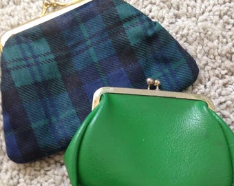 Pair of Vintage Coin Purses made in Japan