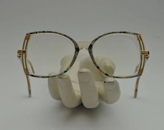 Cazal Mod 336 Col 501 Grey Pearl Gold Frame Glasses Brille Occhiali w/ Case