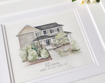Custom House Painting, First Home Painting, Home Painting, First Home Art