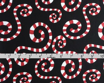 Peppermint Christmas Fabric, In The Beginning Fabric Its Christmas 6JHF 2 Jennifer Heynen, Peppermint Fabric, Christmas Quilt Fabric, Cotton
