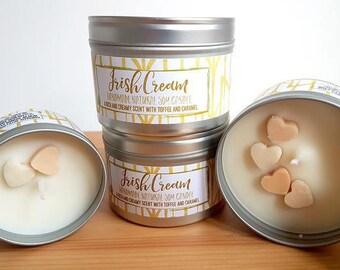 Irish Cream Natural Soy Wax Candle