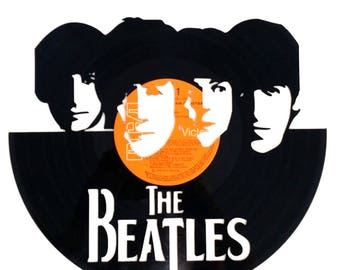 The Beatles - Vinyl Record Art