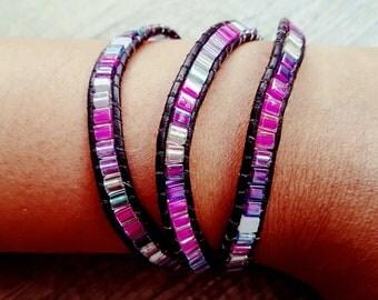 "Wrap bracelet ""Anna"""