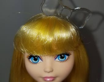 Bow headband for Monster High or Ever After High dolls