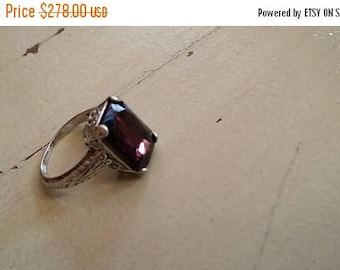 Holiday SALE 85 % OFF Alexandrite  Size 6 Ring Gemstone. 925 Sterling  Silver  Etsy Gift Sale