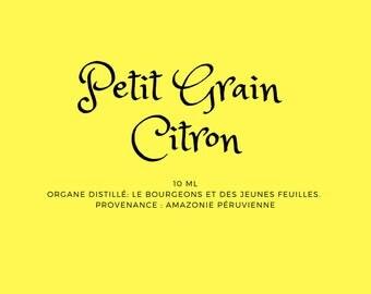 Petitgrain, lemon