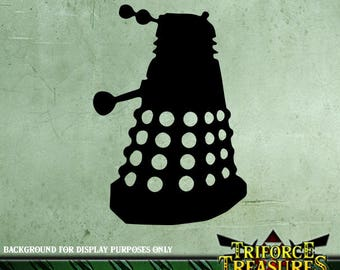 Doctor Who Dalek Sticker / Decal