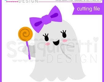 Girl Ghost SVG, Ghost svg, Halloween svg, Fall svg, DXF, ghost clipart, eps, DXF ghost cut file,svg Files for Cutting Machines