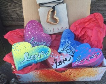 Box of Love: heARTs & Ash Pendant