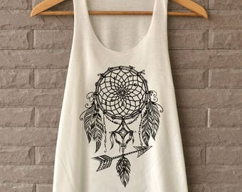 NEW Dreamcatcher Shirts Graphic Tank Top Teegethershop T-Shirts Womens