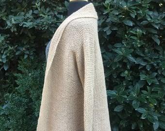 Alpaca Cardigan, Women Cardigan, Knitted Cardigan, Hand knitted Alpaca, Alpaca Sweater